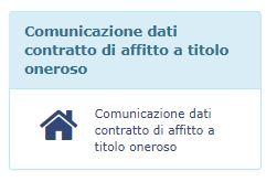 comunicazione dati contratto